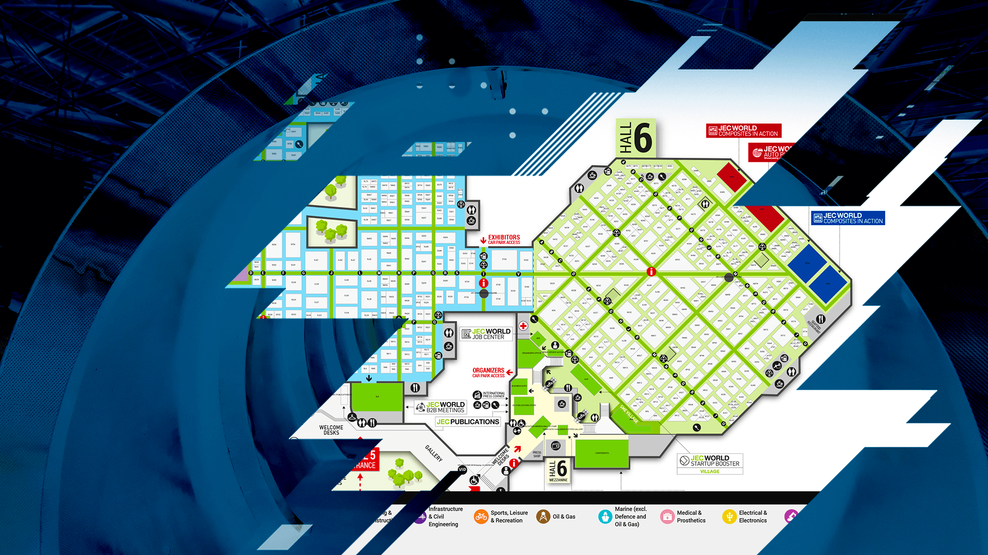 Exhibitors List & Interactive Map